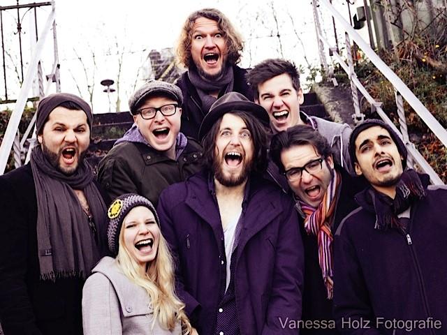 Die Band Lenny Arrived mit ihrem Internetauftritt bei Webnode.